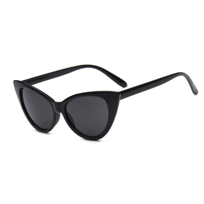 MXDMY New Women Cat Eye Sunglasses Matt black Brand Designer Cateye Sun glasses For Female clout