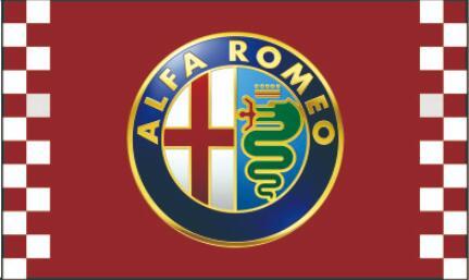 Bandera de ALFA ROMEO, poliéster 3x 5ft, pancarta de ALFA ROMEO envío gratis (2) 8