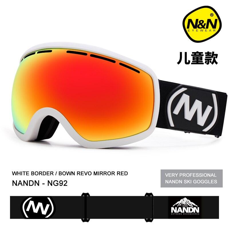 NANDN kinder ski brille outdoor klettern private ski brille