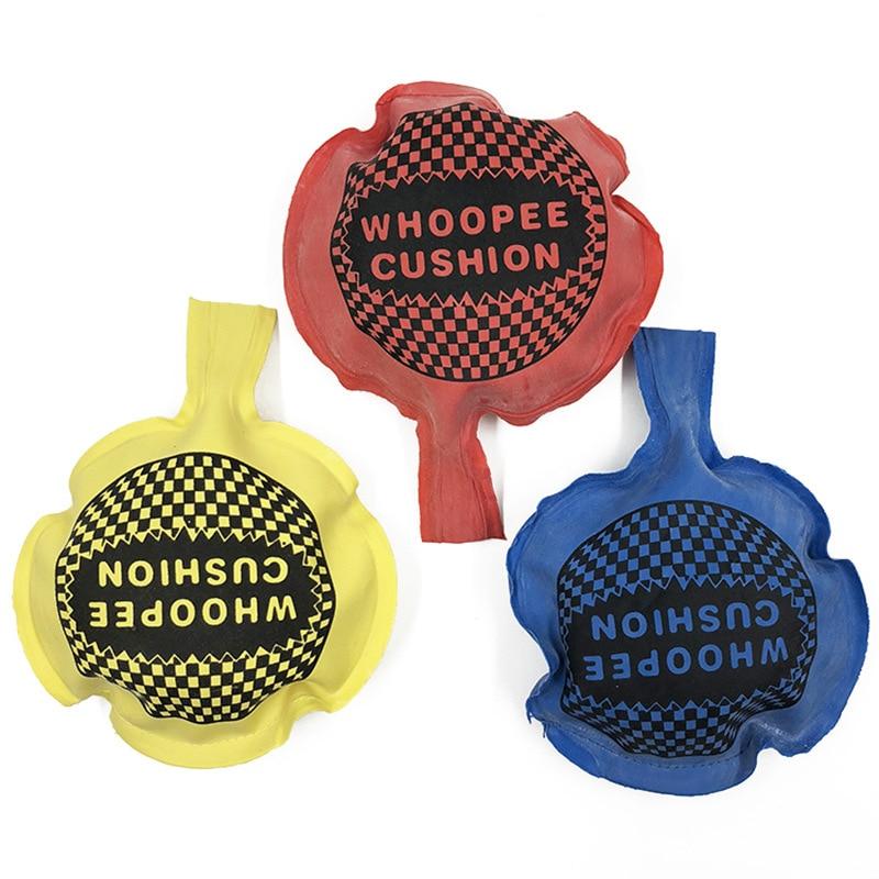Toy Ringing Fart Pad Bag Rubber New Natural Children Movie & TV Boys > 3 Years Old 10*10 CM Funny Sponge Strange Fun Awkward