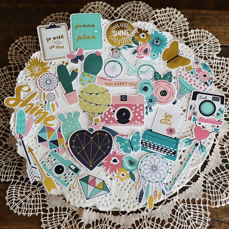 ZFPARTY 33 шт Love Cardstock штампованные бумажные наклейки для скрапбукинга Happy planner/Создание карт/Журнал проект