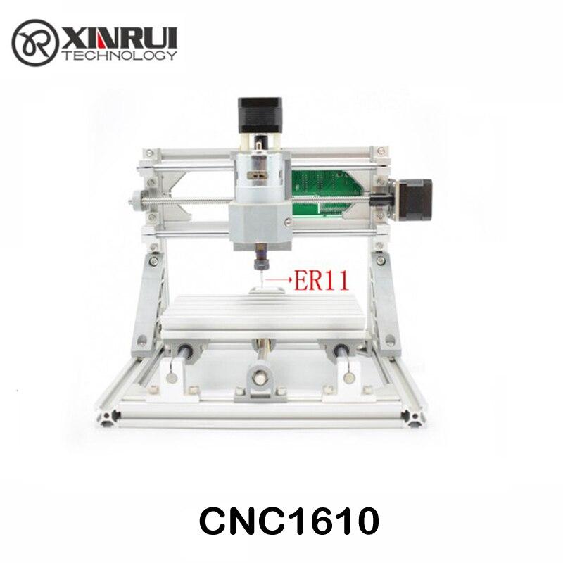 CNC 1610 + 2500 mw ER11 GRBL Diy mini cnc-maschine high power laser graviermaschine, 3 Achse pcb fräsmaschine, Holz Router