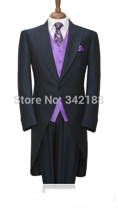 بدلات زفاف أنيقة للرجال, بدلات زفاف ضيقة مناسبة للعريس باللون الأسود (جاكيت + سروال + قميص داخلي + فيست) لرفقاء العريس