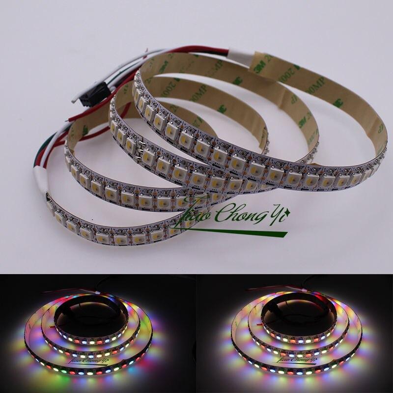 1 متر 144 المصابيح/بكسل/م SK6812 RGBWW 4 اللون في 1 LED 5050 LED قطاع الشريط 5 فولت