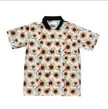 Neue Männer golf Flamme Le Fleur Tyler Die Creator Baumwolle Casual Shirts Hemd Sonne blume Tasche Kurze-ärmeln Top M 2XL # AB25