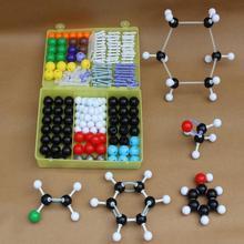 Ensemble de modèles moléculaires 267 pièces-chimie générale et organique pour la recherche pédagogique en laboratoire scolaire