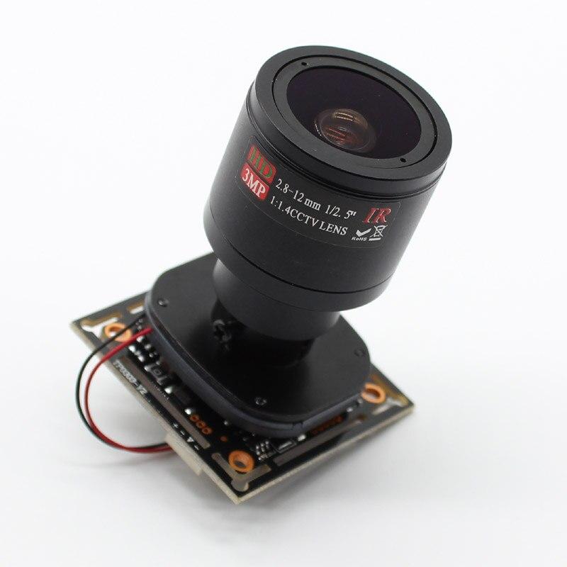HD NVP2441 + IMX307 4in1 AHD TVI CVI CVBS 2mp cámara CCTV para Starlight seguridad placa PCB 1080P con lente de cable