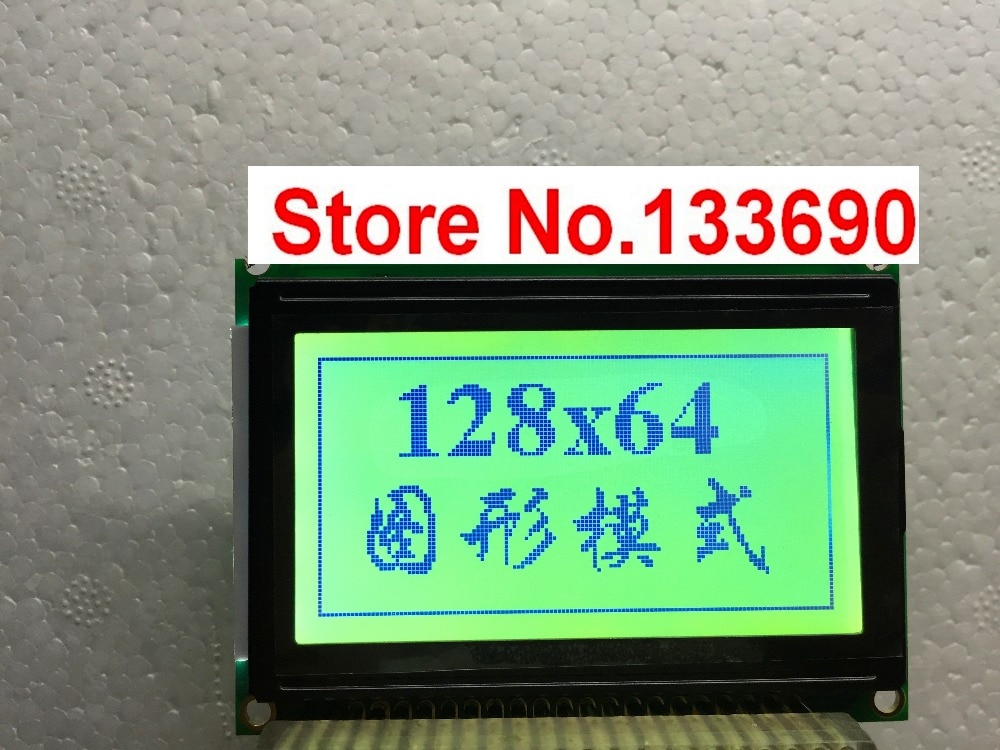 Neue lcd-panel ersatz powertipp pg12864j pg-12864j lcd-display