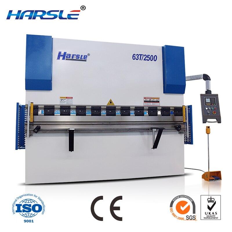 Frenos hidráulicos NC para dobladora de láminas de metal