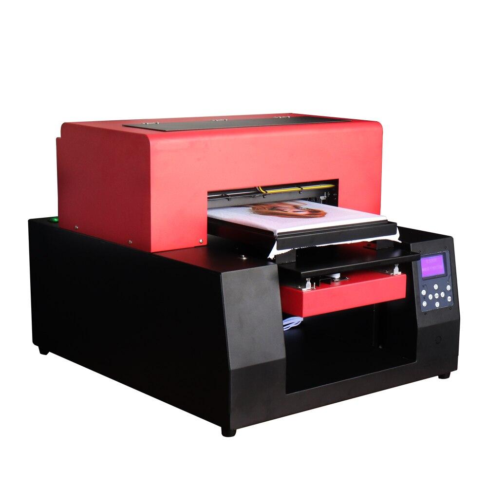 Impresora plana automática A3 DTG, tamaño A3, impresora de superficie plana, impresora textil para impresora de camisetas