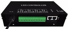 H802ra, 4 포트 (4096 픽셀) salve led 픽셀 컨트롤러, madrix 또는 marster 컨트롤러 (h803tv/h803tc) 용 art-net 프로토콜 지원