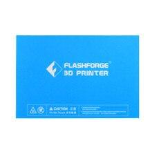 5pcs*print sticker build plate tape 232*154mm for flashforge Creator Pro/Dreamer blue print bed tape