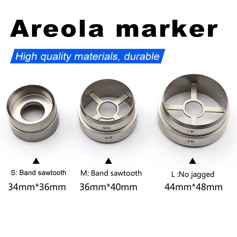 Shiqiang areola marker areola positioning cosmetic plastic surgery tool stainless steel skin tissue drill