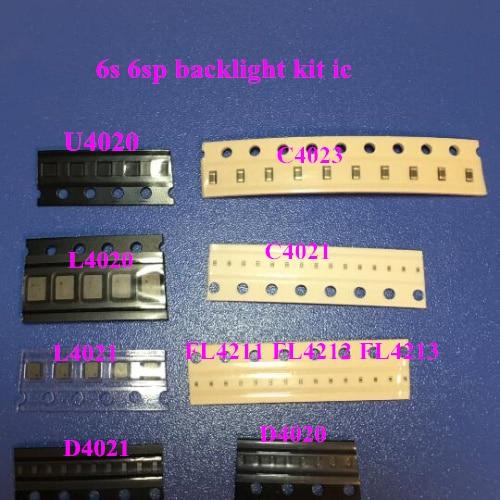 20sets(220pcs)backlight fix kit for iPhone 6S ic U4020 + Coil L4020 + L4021 + Diode D4020 + D4021 + Capacitor C4022 C4023 C4021