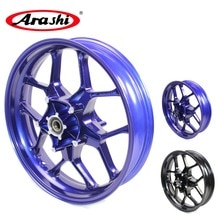 Arashi YZF R1 15-17 Front Wheel Rim Rims For YAMAHA YZF-R1 2015 2016 2017 Glossy Blue 15 16 17 6061-T6 Aircraft grade