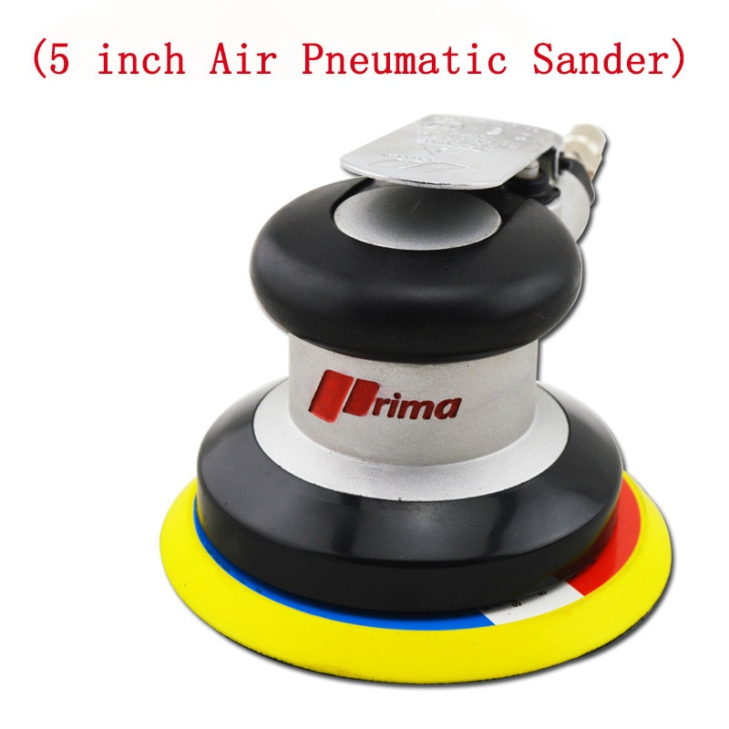 5 Inch Air Pneumatic Polishing Machine Car Wax Polish Machine Self Vacuum 10000RPM Pad Polisher Grinder Sanding Machine