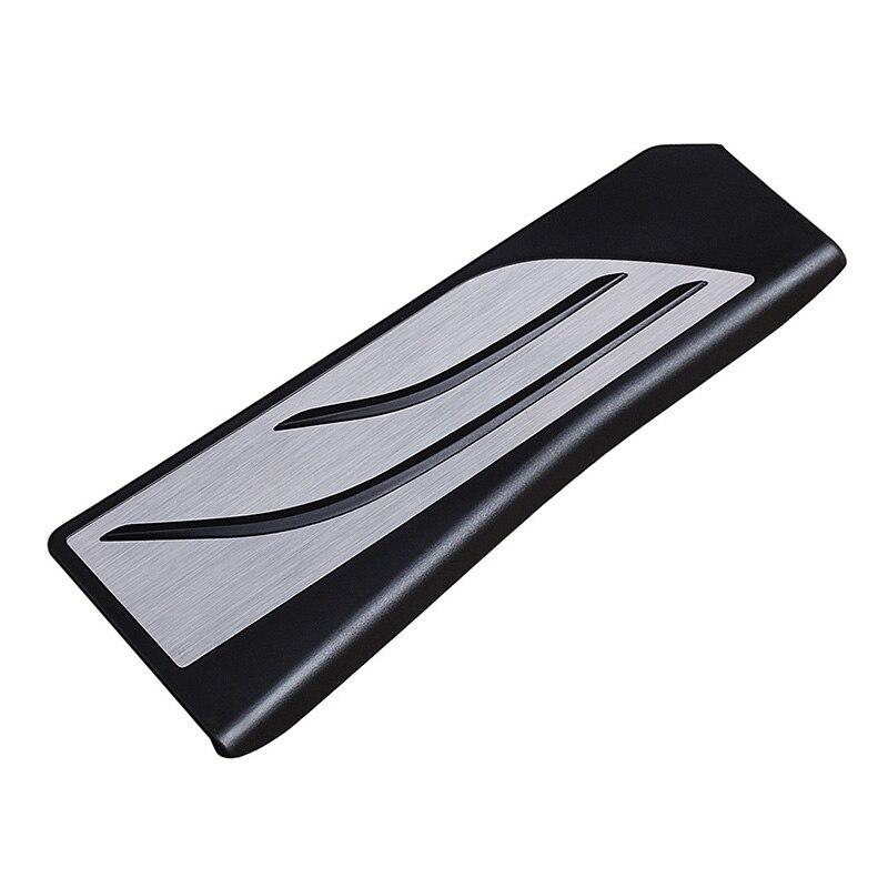 1pc cubierta para apoyapiés para BMW F10 F11 F07 F25 F06 F12 F13 F01 muerto Pedal Accesorios