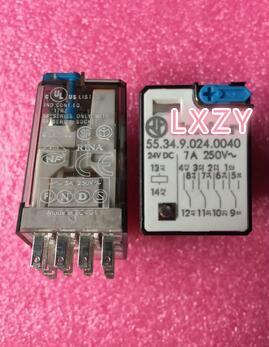 55.34.9.024.0040 55.34 24VDC 7A New and original Relays