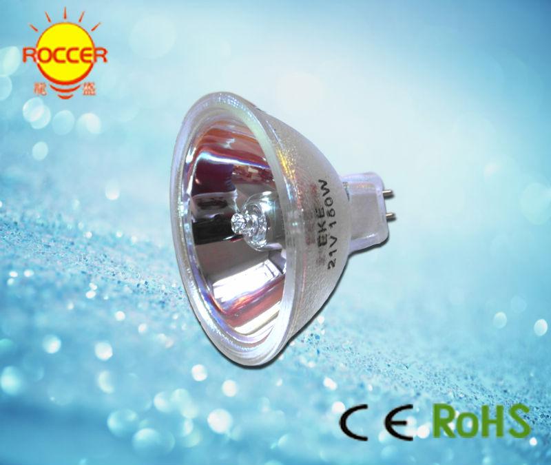 EKE-لمبة ألياف بصرية ذات أوجه ، 21 فولت ، 150 واط ، MR16 GX5.3 ، مصباح مجهر عاكس ، مصباح eke