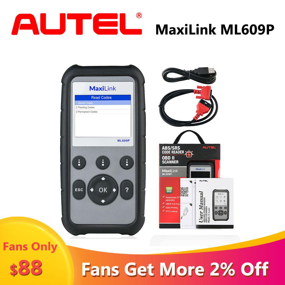 Autel AutoLink ML609P OBD escáner scaner automotriz profesional escáner de diagnóstico de...