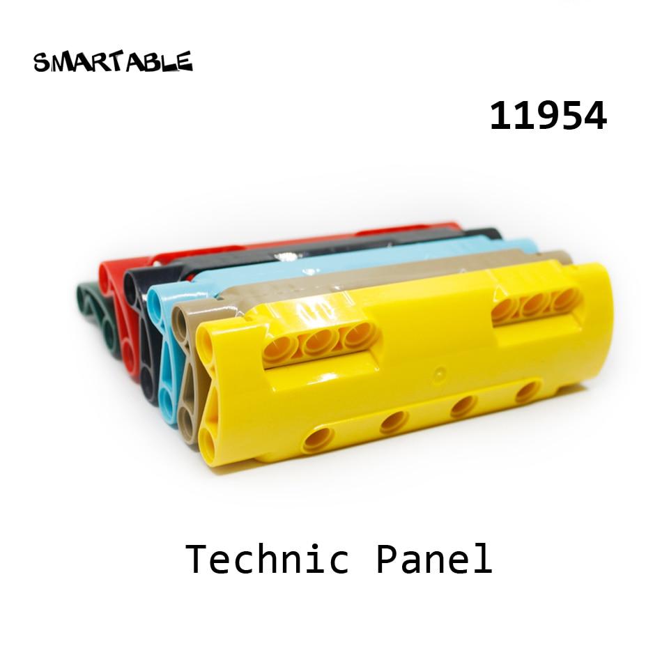 Smartable High-Tech Panel 11x3 Building Blocks MOC Part DIY STEAM Toys For Kids Creative Compatible 11954 5pcs/lot
