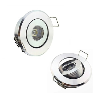 1w led ceiling light ,silver shell,warm white/cool white CE&RoHS 2 years warranty light+driver+free shipping, led lamp for home