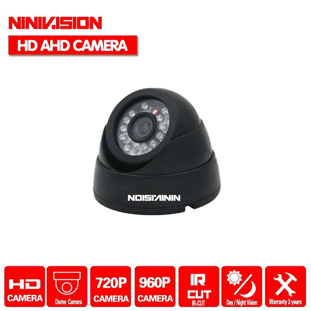 NINIVISION nowy dom kamera AHD 720 P 960 P bezpieczeństwa CCTV AHD-M kamera HD 1MP podczerwieni Night vision kryty kamera 1080 P obiektyw