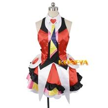 Anime mthrough delta Freyja Wion Cosplay Costume Halloween uniforme tenue Top + jupe + cravate + coiffure + chaussettes nimporte quelle taille