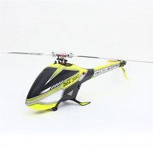 ALZRC Diabo 380 RÁPIDO FBI 6CH 3D Vermelho/Amarelo Voador RC Kit Helicóptero Indoor Brinquedos Ao Ar Livre Para As Crianças Crianças presentes 55x20x13 cm