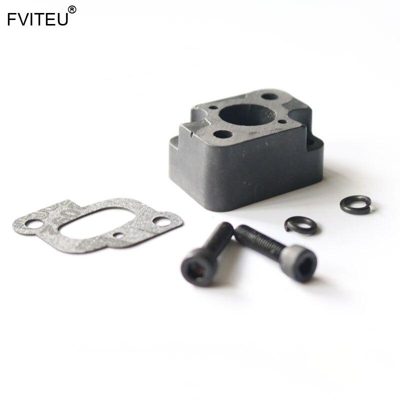 FVITEU пластиковый впускной коллектор для двигателя 23cc-30.5cc для 1/5 HPI KM ROVAN baja 5b ss 5t