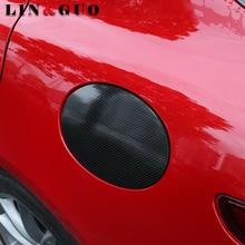 Car tank cap 5D carbon fiber protection sticker Special for alfa romeo Giulia car styling accessories