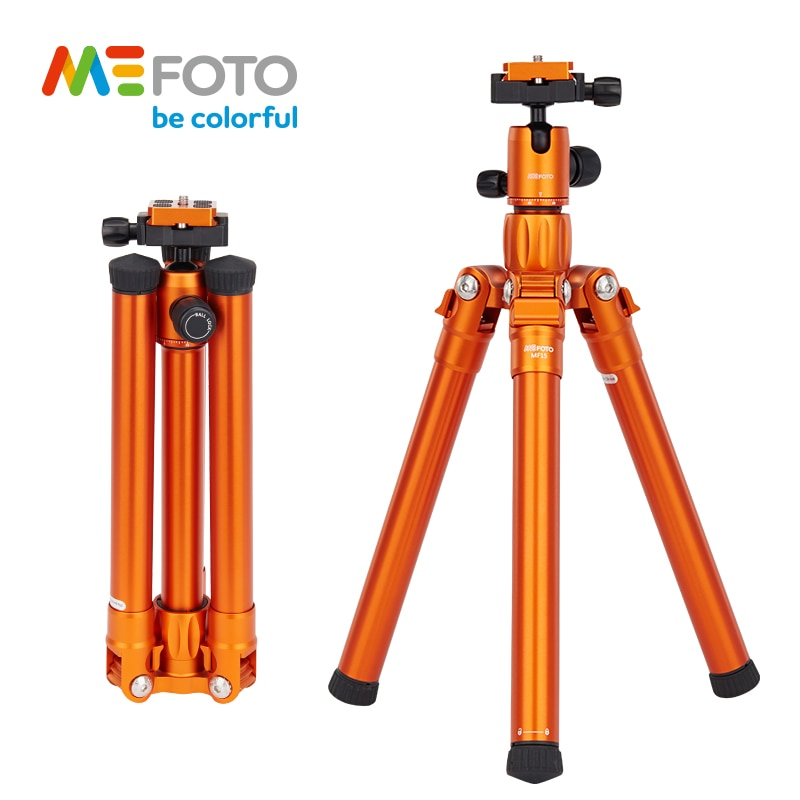 MeFOTO MF15 Professionelle SLR Kamera Stativ Macroshot Tragbare Stativ SLR Drei Beine Bunte Reise Stativ Selfie Pod