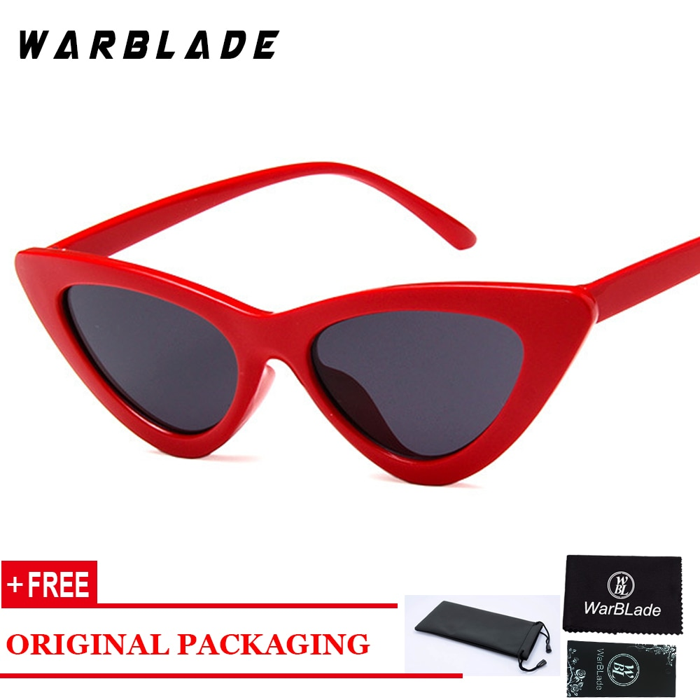 Cat Eye Women Sunglasses 2018 New Style Summer Hot Sale Fashion Lady Sun Glasses For Men Vintage Designer Acetate Frame
