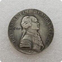 Rusland, hedendaagse medaille van Paul I 1796 rouble Copy Coin herdenkingsmunten-replica munten medaille munten collectibles