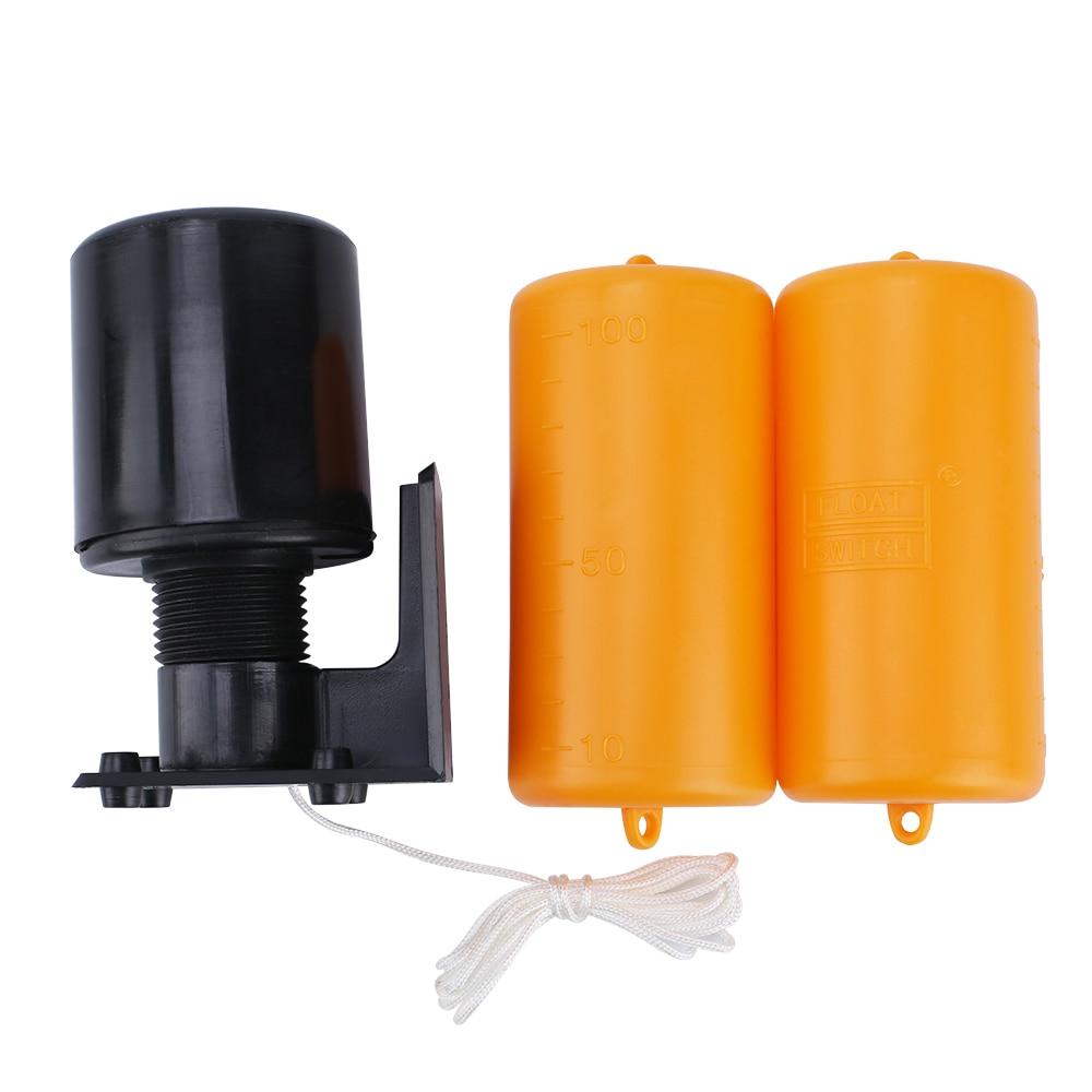 Venda quente 1.2 m controlador interruptor de flutuador interruptores líquidos líquido fluido nível água float interruptor controlador contator sensor