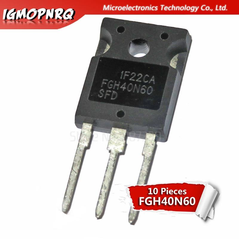 10 шт. FGH40N60SFD FGH40N60 TO3P 40N60 600V 40A IGBT транзистор