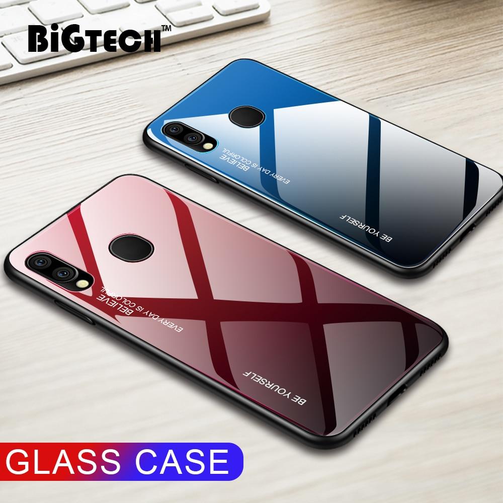 Gradiente de Color de la caja del teléfono para Samsung Galaxy S10e S10 S8 S9 Plus Nota 8 9 A8 A7 2018 A70 A60 a50 A40 A30 A10 caso cubierta de vidrio