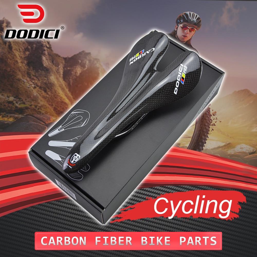 Nova dodici pro fibra de carbono estrada mountain bike sela almofada de carbono mtb bicicleta ciclismo sela peças acessórios 128*270