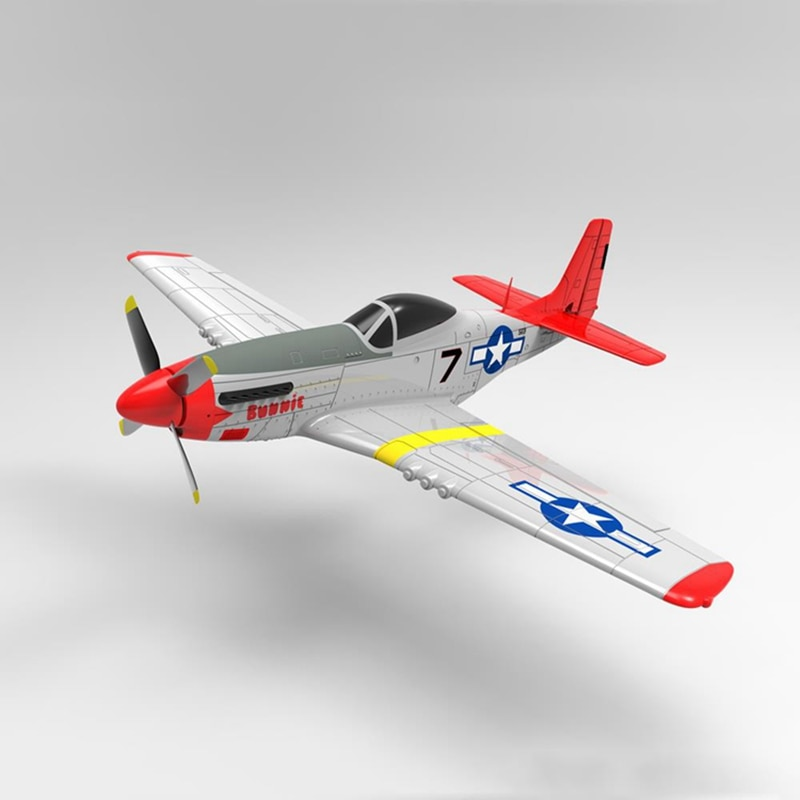 Volantex RC 768-1 Mus & tang P51D 750 мм размах крыльев EPO Warbird RC Airplane RTF