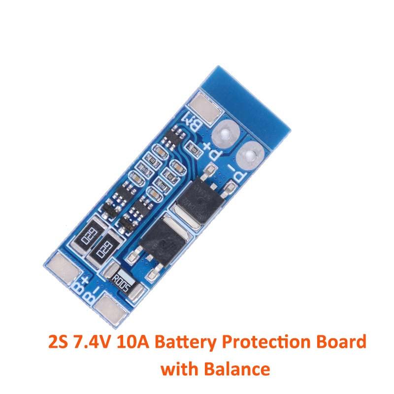2 S/3 S/4S литий-ионная литиевая батарея 18650 зарядное устройство PCB BMS Защитная плата Lipo сотовый модуль с балансом