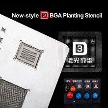Kaisi 3D IC puce BGA Reballing pochoir Kits ensemble A8 A9 A10 A11 pochoir étain plaque outils à main pour iPhone 6SPlus 7G X 8G 8P série
