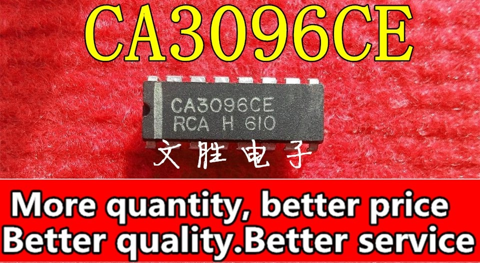 Envío Gratis 50 unids/lote CA3096 CA3096E CA3096CE CA3096AE CA3096BE DIP-16 buena calidad