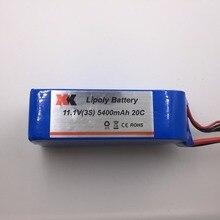 XK X380 batterie 11.1 V 5400 mAh Lipo batterie pour XK X380 quadrirotor Drone batétrie pièces de rechange