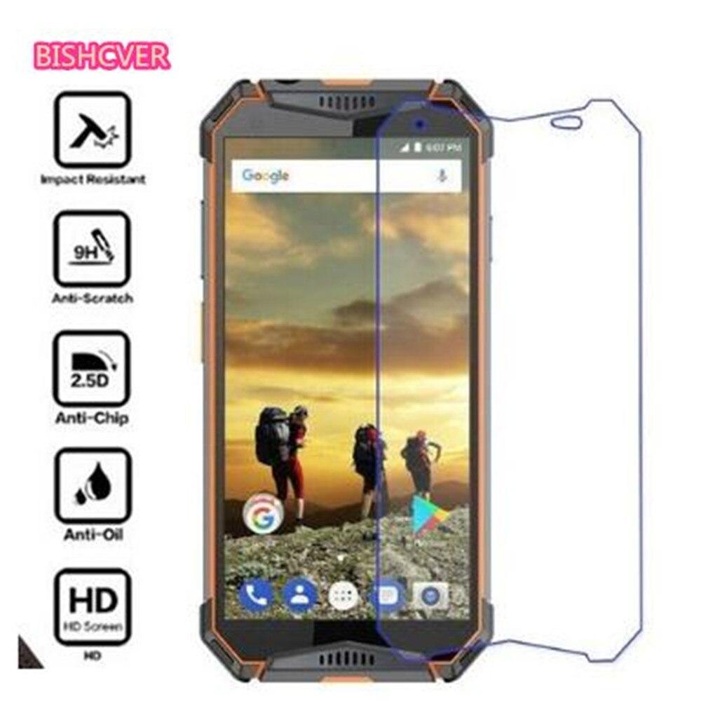Protección de vidrio para Ulefone armadura 3T 2 2S 5 6 6E S7 S1 S10 Pro vidrio templado para Ulefone Power 5 5S Protector de pantalla