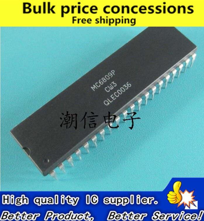 Envío Gratis 5 unids/lote MC6809P MC6809 DIP-40 IC