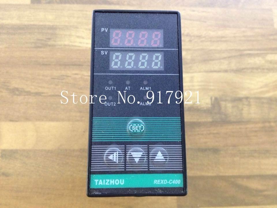[ZOB] TAIZHOU REXD-C4131 * un medidor de control de temperatura salida relé 0-400 K entrada universal 48X96-5 unids/lote
