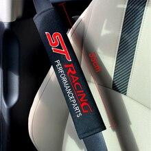 Housse de Protection de siège de voiture   2 pièces de 33cm, pour Ford focus 2 3 ST racing Fiesta EcoSport ESCORT automobiles