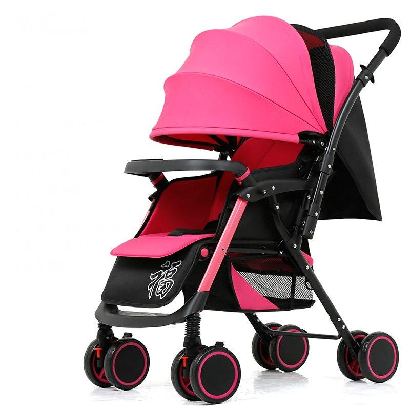 عربة أطفال محمولة خفيفة الوزن للغاية ، عربة أطفال سهلة الطي ، عربة أطفال ثنائية الاتجاه مع مسند للذراع قابل للإزالة ، عربة أطفال 5.6 كجم