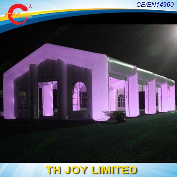 Luz inflável gigante para festa, frete grátis, tenda de festa de casamento, barraca de marquee inflável ao ar livre