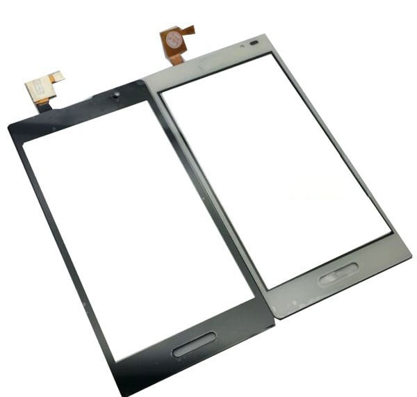 4,5 pulgadas para LG L9 P769 Optimus pantalla táctil Lente de Cristal digitalizador Panel de cristal frontal negro blanco color con cinta